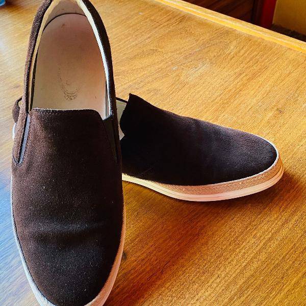 Sapato tod's carmurça marrom