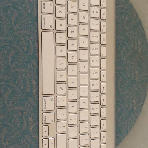 Teclado apple wireless keyboard teclado sem fio apple modelo