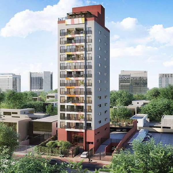 Apartamento chácara santo antônio 35m² com 1 dormitório