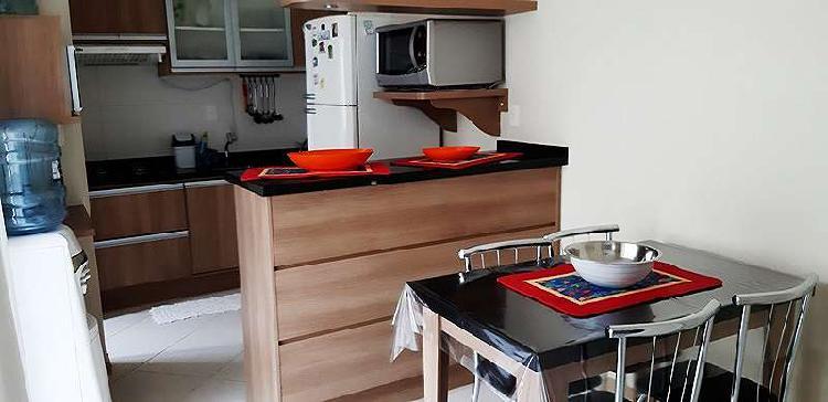 Apartamento a venda 02 quartos, mobiliado, ingleses norte,