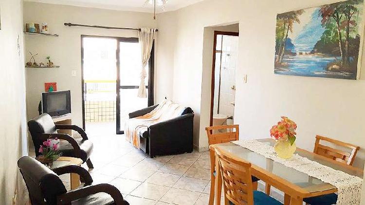 Apartamento de 1 dormitório, aviação, praia grande-sp