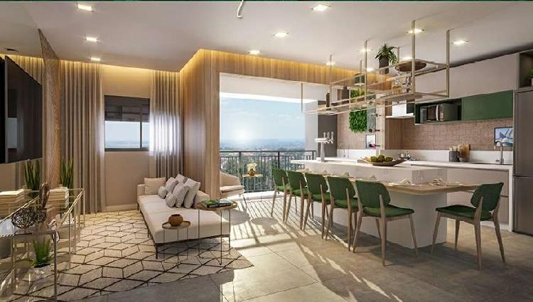 Apartamento novo em alphaville - 3 domitórios com 1 suíte
