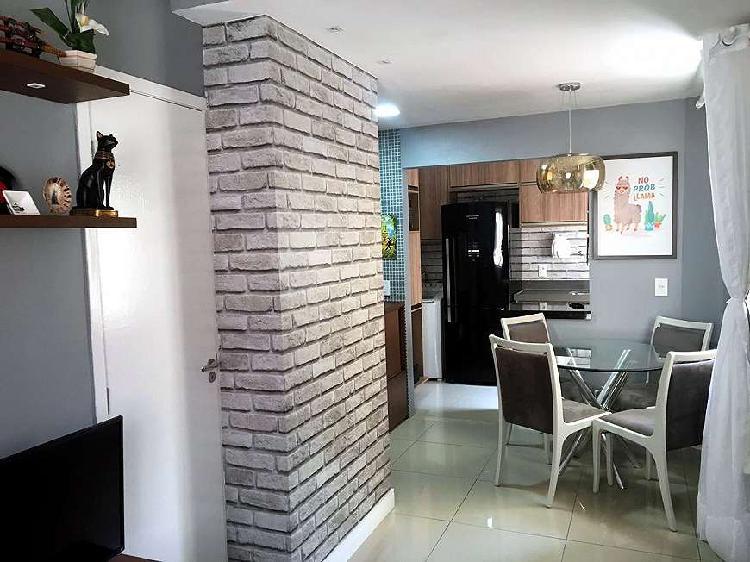 Casa de condomínio para venda tem 60 metros quadrados com 2