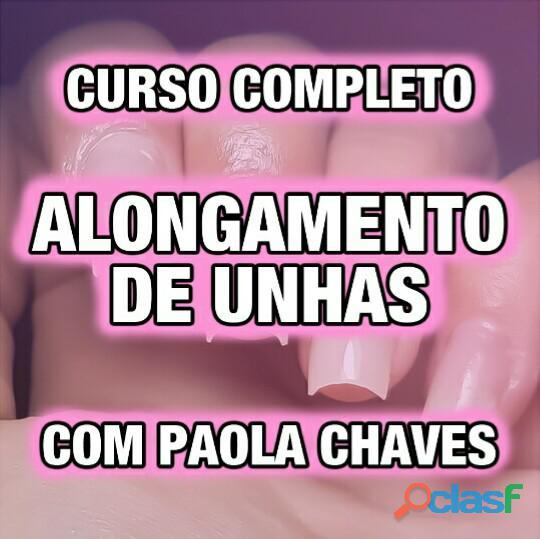 CURSO ALONGAMENTO DE UNHAS