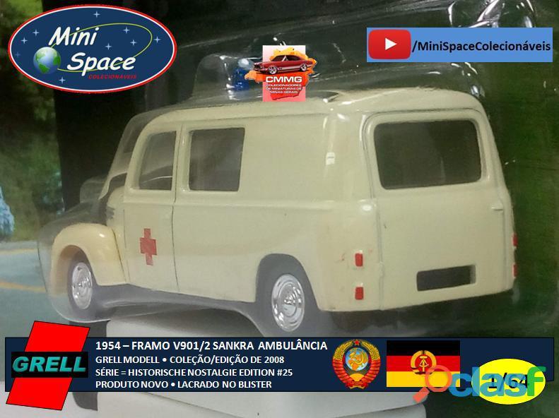 Grell Modell 1954 Framo V901/2 Sankra – Ambulância 1/64 4