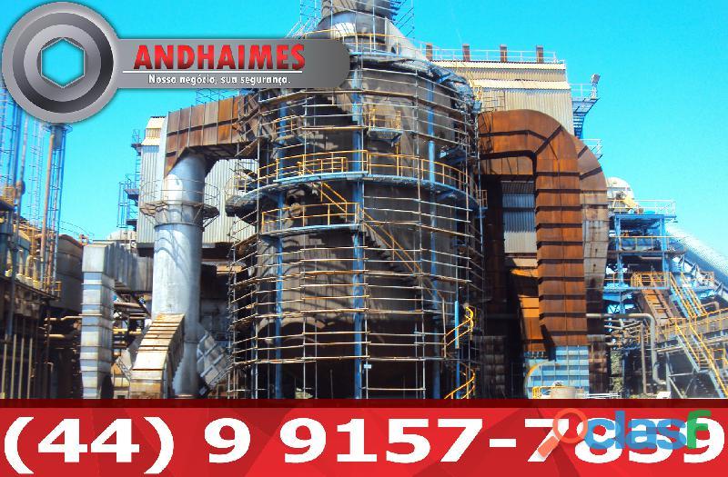 Montagem Andaime Tubo Roll Assis SP 044991577859 2