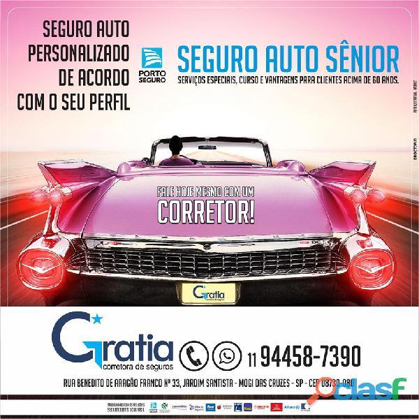 Seguro Auto Senior da Porto Seguro