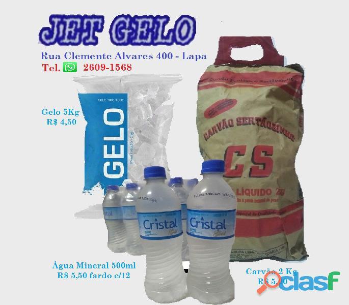 Gelo, Agua e Carvao