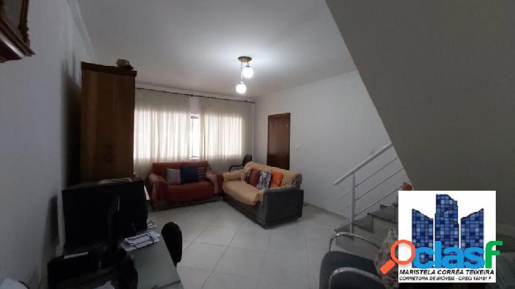 Casa/sobrado 167m² 2 dormitórios, edícula e 2 vagas.