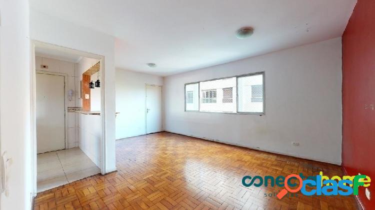 Apartamento de 90 m², 2 dormitórios c/ 1 suíte e 1 vaga em pinheiros