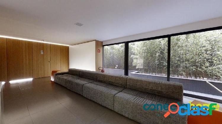 Apartamento semi-mobiliado de 72 m², 2 dormitórios e 1 vaga no jd. paulista