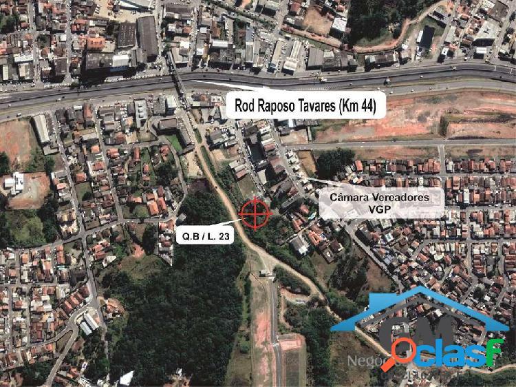 Terreno uso misto no centro de vargem grande paulista -km 44 raposo tavares