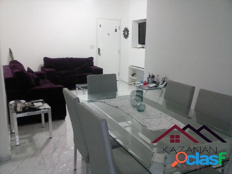 Apartamento 2 dormitórios com dependência no campo grande