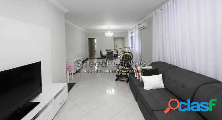 Apartamento em santos 4 dormitórios, gonzaga