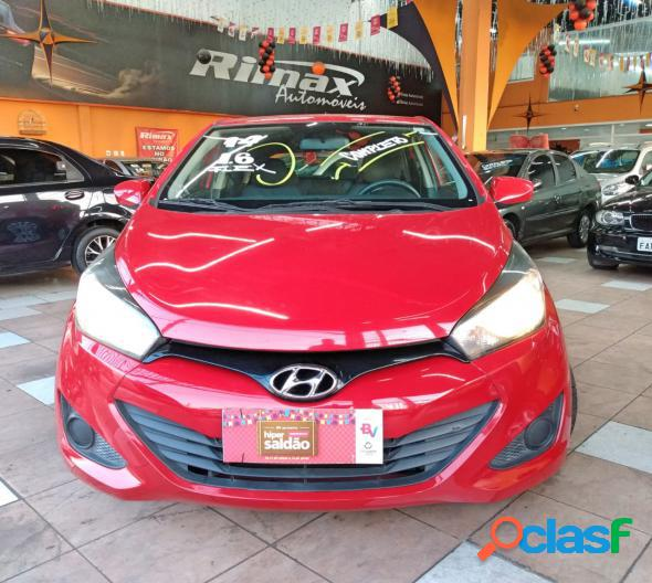 Hyundai hb20 c.stylec.plus 1.6 flex 16v aut. vermelho 2014 1.6 flex