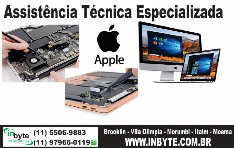 Assistencia tecnica apple macbook e imac – brooklin,