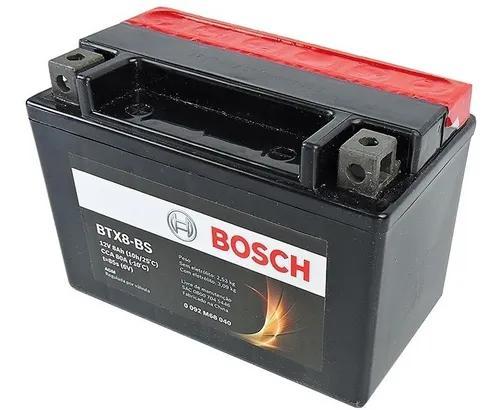 Bateria kawasaki ninja r 250 8ah 12v bosch btx8-bs (ytx9-bs)