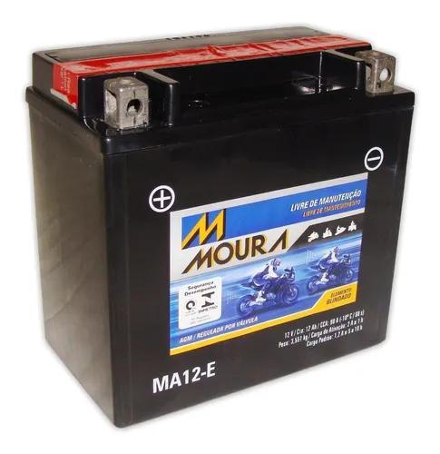 Bateria moura ytx14-bs ma12-e bmw r 1200 gs adventure