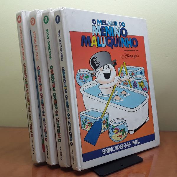 Coleção menino maluquinho livros infantis quadrinhos