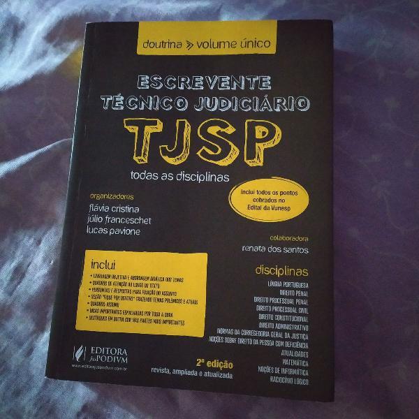 Doutrina para escrevente tj sp - todas as disciplinas