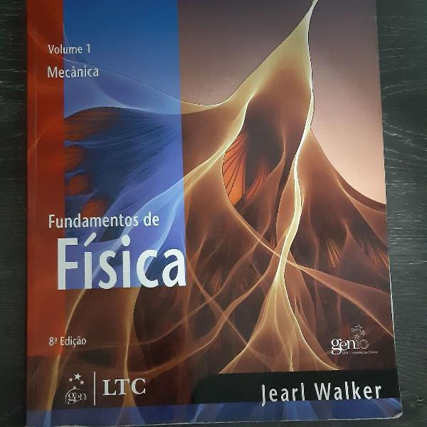 Fundamentos da física jearl walter, volume 1 mecânica,