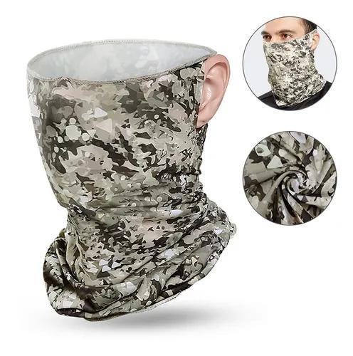 Homens mulheres cooling bandana face capa com orelha loops a