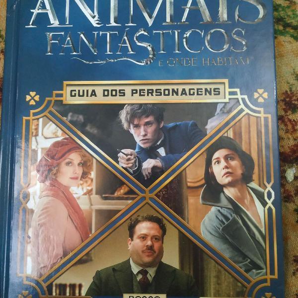 """Livro """"animais fantásticos e onde habitam"""" by michael kogge"""