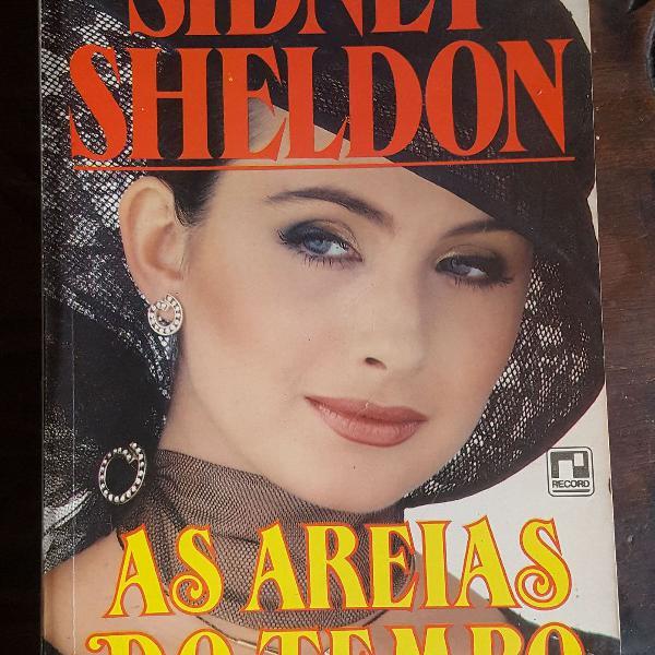 """Livro """"as areias do tempo"""" do sidney sheldon"""