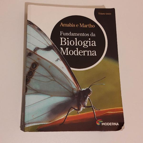 Livro biologia moderna.