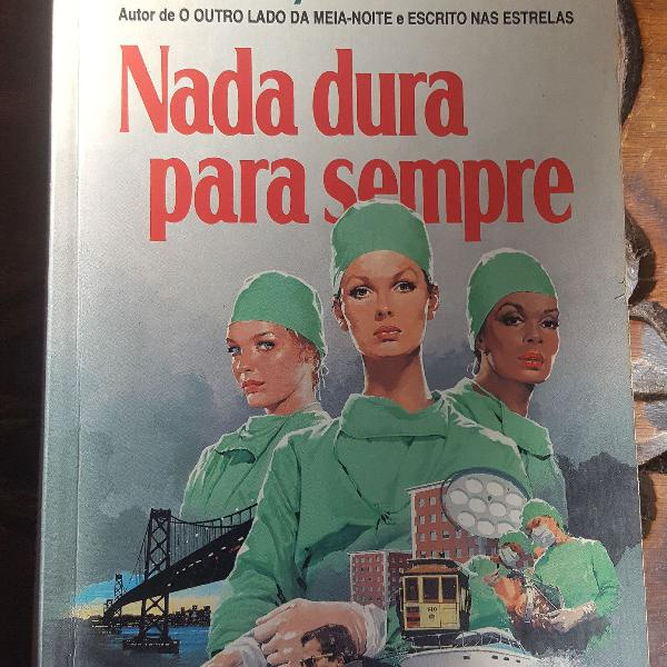 "Livro ""nada dura para sempre"" do sidney sheldon"