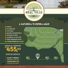 Lote em condomínio à venda no bairro zona rural, 2062m²