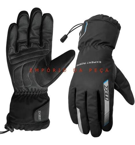Luva x11 proof impermeável frio chuva original motociclista