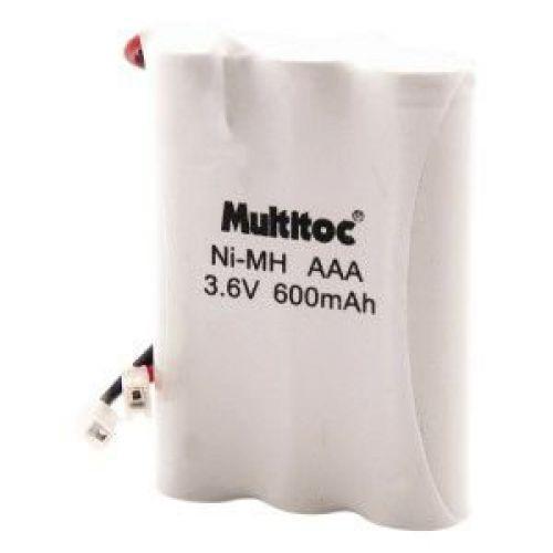 Multitoc bateria p// telefone sem fio 3,6x600mah 3aaa