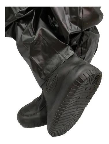 Polaina galocha bota moto motoqueiro chuva impermeável
