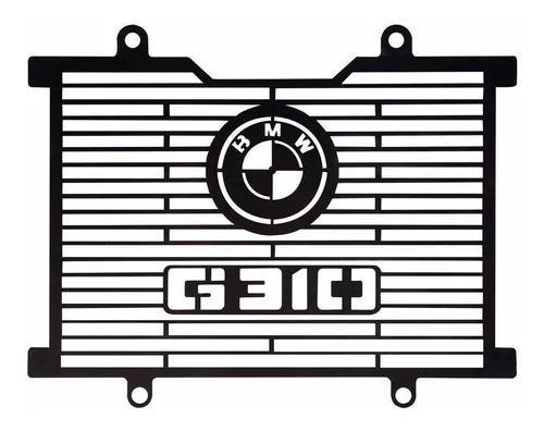 Protetor tela radiador aço carbono bmw g310 g310gs g310 gs
