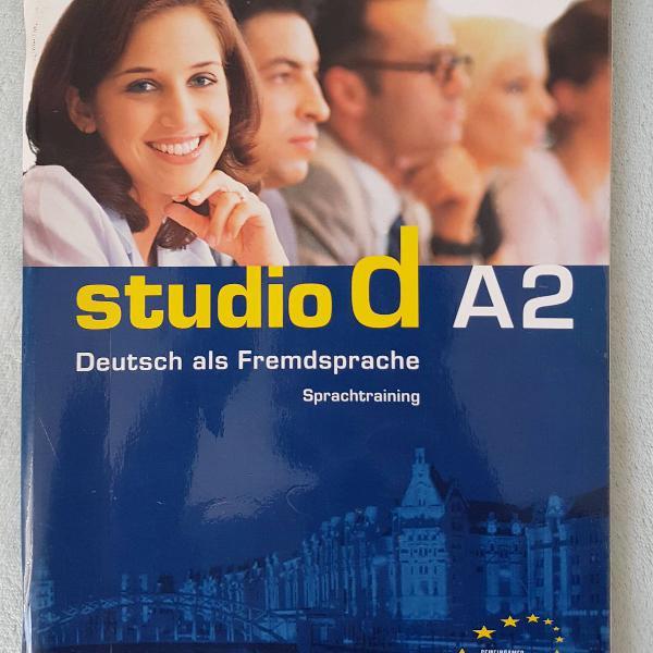 Studio d a2 - livro de exercícios - sprachtraining