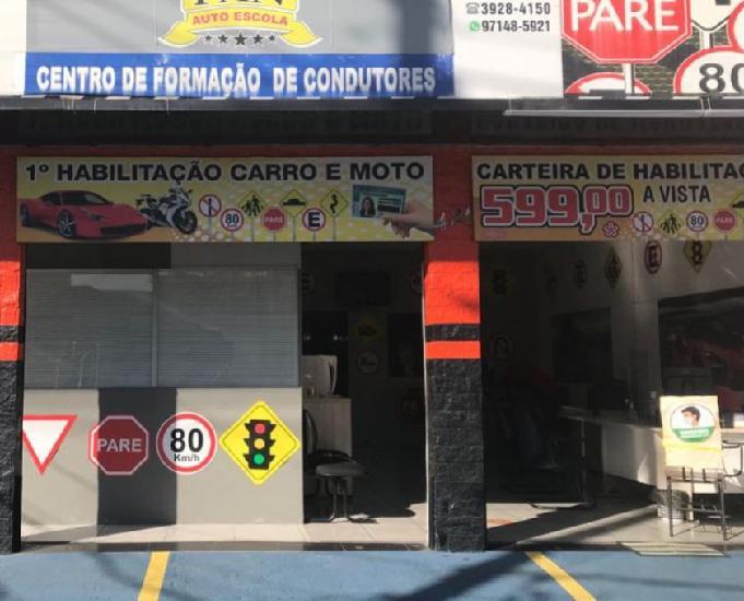 VENDO AUTO MOTO ESCOLA LUCRO LIQUIDO 15.000 PÇO 285.000
