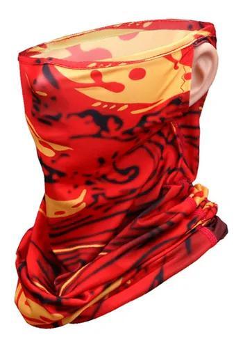 Verão proteção uv máscara rosto sol-protetor pescoço po