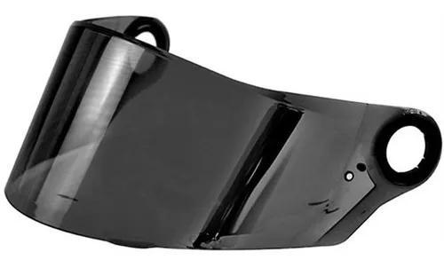 Viseira capacete ls2 ff358/ff396 fume polivisor
