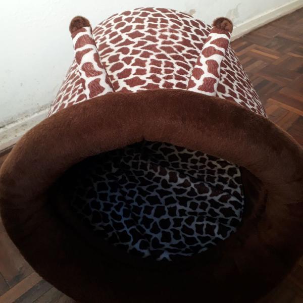 Cama de girafa para gato/cachorro