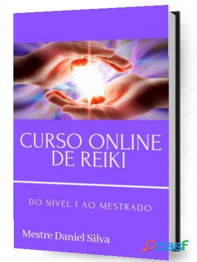 CURSO ONLINE DE REIKI DO NÍVEL 1 AO MESTRADO