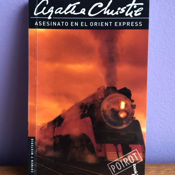 Livro asesinato en el orient express - agatha christie