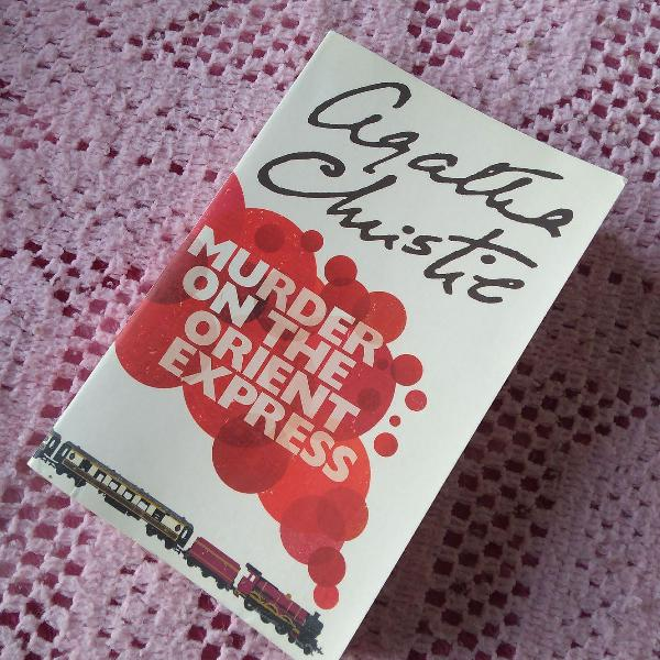 Livro assassinato no expresso oriente em inglês