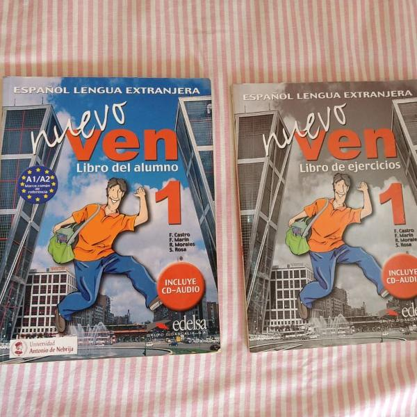 Livro - curso de espanhol nuevo ven 1