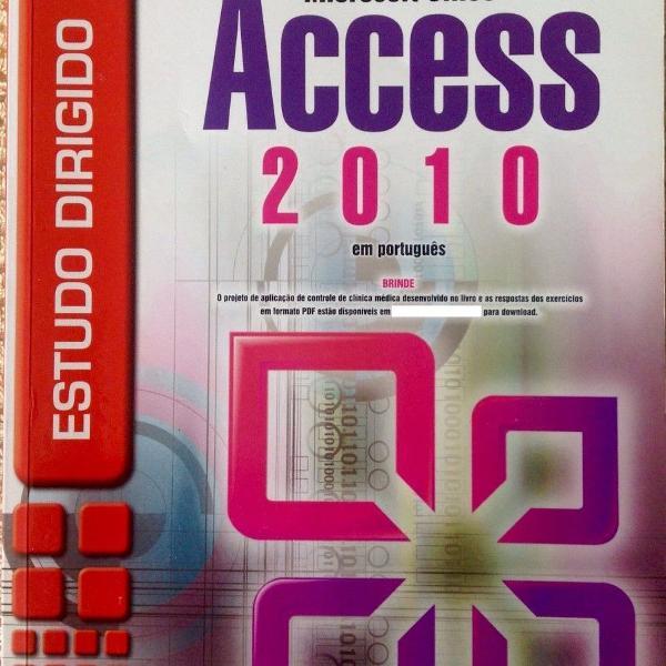 Livro estudo dirigido microsoft office access 2010