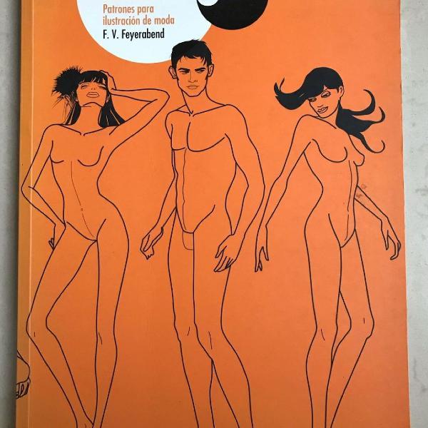 Livro figurines de moda