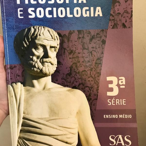 Livro pré vestibular filósofos e sociologia