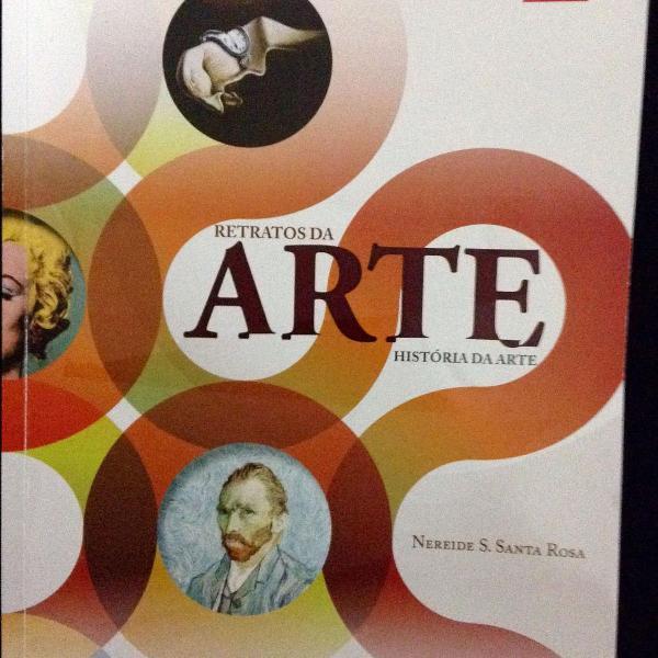 Livro retratos da arte - história da arte