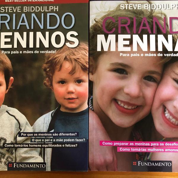 Livros criando meninos/ criando meninas