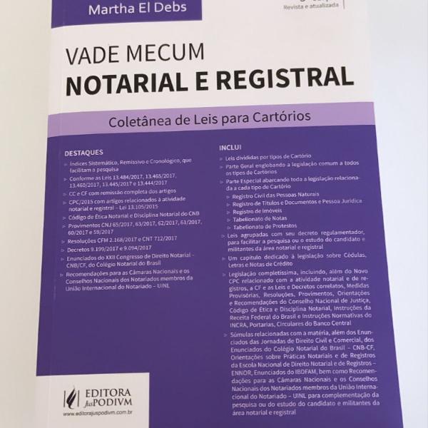 vade mecum notarial e registral